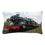 railway engine Pillow Case