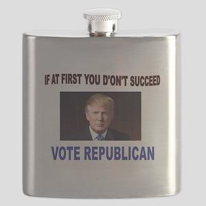 TRUMP WINS Flask