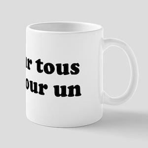 Un Pour Tous Mug