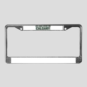 Calgary, Alberta License Plate Frame