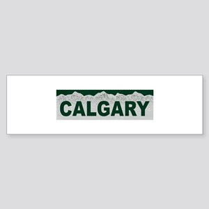 Calgary, Alberta Bumper Sticker