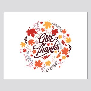 Give Thanks Small Poster
