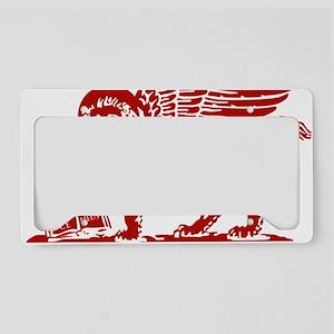 LionRed License Plate Holder