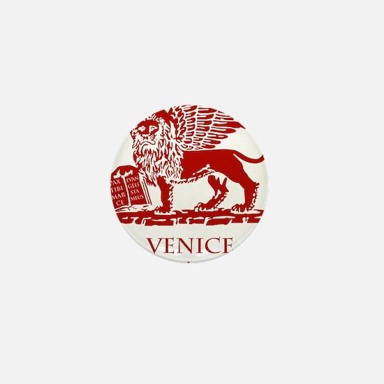 Venice Lion Mini Button