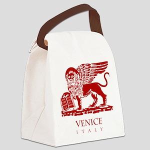 Venice Lion Canvas Lunch Bag