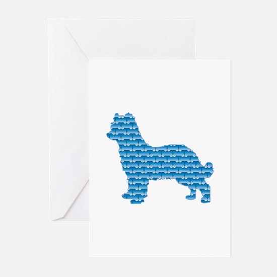 Bone Pyrenean Greeting Cards (Pk of 10)