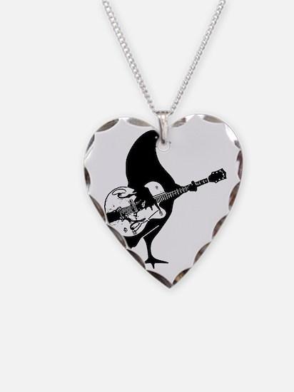 Guitar Chicken Necklace