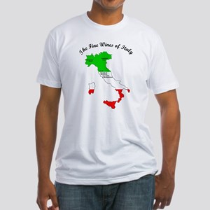 The fine Wines of italy Fitted T-Shirt