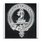Wilson Badge on Tile Coaster