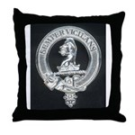 Wilson Badge on Throw Pillow