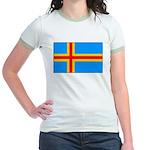 Aland Islands Ringer T-shirt