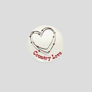 Country Love Mini Button