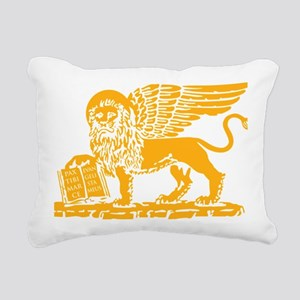 LionGalben Rectangular Canvas Pillow