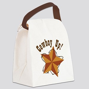 Cowboy Up Canvas Lunch Bag