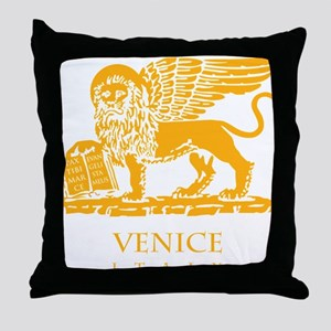 venetian flag Throw Pillow