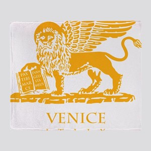 venetian flag Throw Blanket
