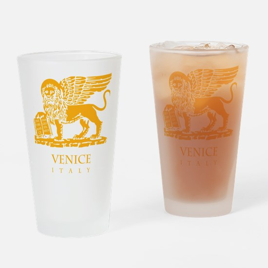 venetian flag Drinking Glass