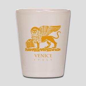 venetian flag Shot Glass