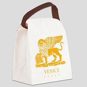 venetian flag Canvas Lunch Bag