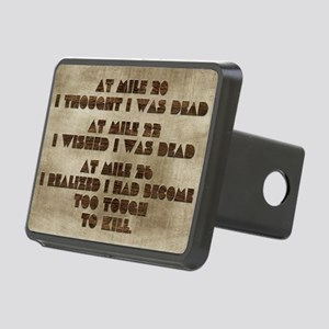 card at mile 20 Rectangular Hitch Cover