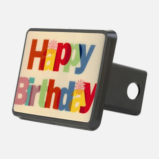 Happy Birthday Hitch Cover