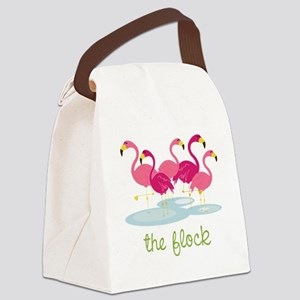 The Flock Canvas Lunch Bag