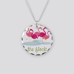 The Flock Necklace Circle Charm
