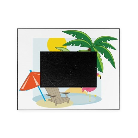 Summer Beach Picture Frame