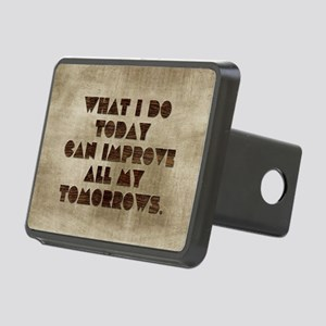 Card What I do today can i Rectangular Hitch Cover