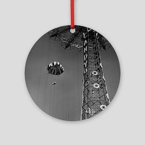 Coney Island Parachute Jump 1673054 Round Ornament