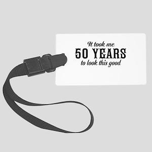50th Birthday Luggage Tag