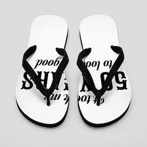 50th Birthday Flip Flops