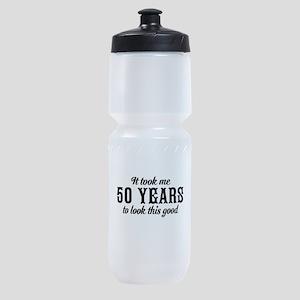 50th Birthday Sports Bottle