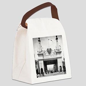 Luna Park Entrance Coney Island 1 Canvas Lunch Bag