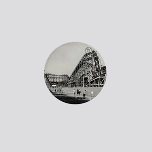 Coney Island Cyclone Roller Coaster 18 Mini Button