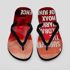 I Survived The Global Warming Hoax Flip Flops