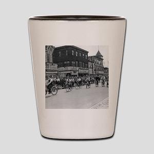 Coney Island Bicyclist 1826632 Shot Glass