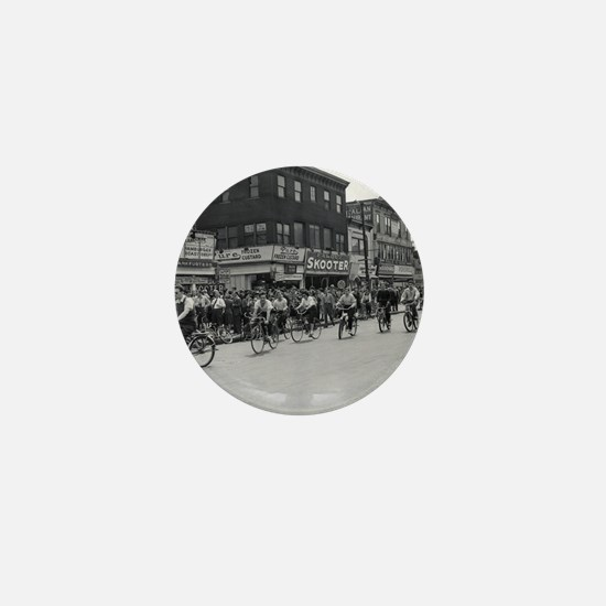 Coney Island Bicyclist 1826632 Mini Button
