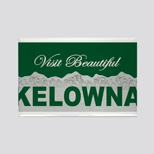 Visit Beautiful Kelowna, Bri Rectangle Magnet