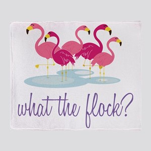 What The Flock? Throw Blanket