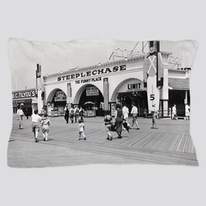 Steeplechase on Coney Island 1826580 Pillow Case
