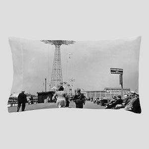 Coney Island Parachute Jump 1826579 Pillow Case