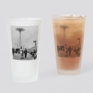 Coney Island Parachute Jump 1826579 Drinking Glass