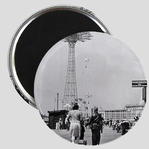 Coney Island Parachute Jump 1826579 Magnet