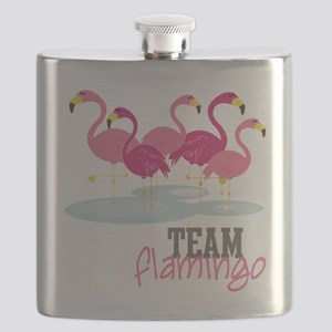 Team Flamingo Flask