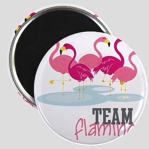 Team Flamingo Magnet