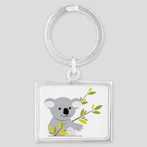 Koala Bear Landscape Keychain