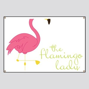 The Flamingo Lady Banner