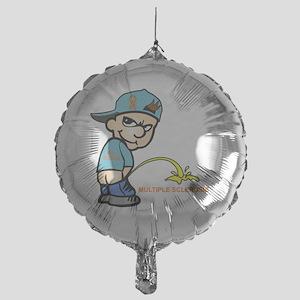 Piss on MS Mylar Balloon