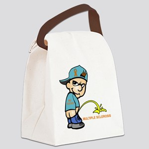 Piss on MS Canvas Lunch Bag
